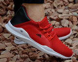Ultra Light Red Sports Sneakers For Boys / Men