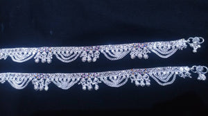 Stylish Silver Anklets For Women