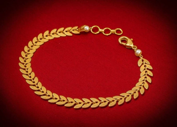Beautiful Gold Plated Bracelet