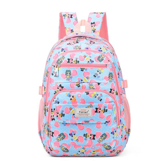 Force1 26 Litres lightweight casual waterproof backpack school bag office for mens boys girls women teens unisex laptop water proof resistant travel