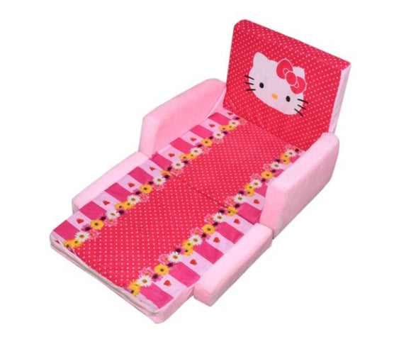 Comfy Foam Cotton Sofa Cum Bed For Kids