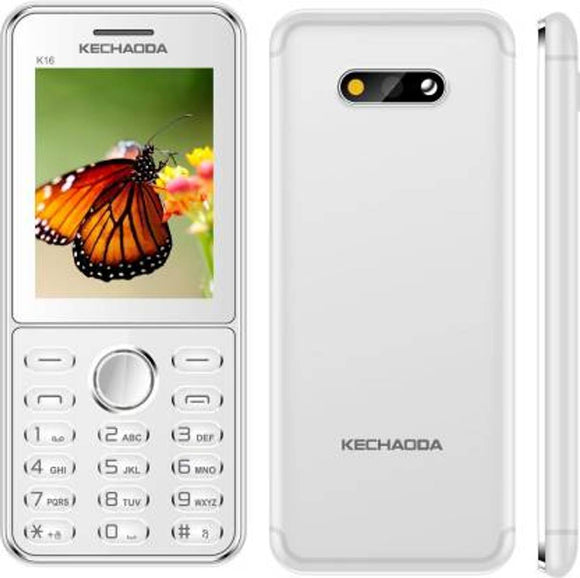 MOBILE PHONE KECHAODA K16 Dual SIM, 2.4 inch Display with Vibration, 800mAH Battery, Ultra Slim Mobile
