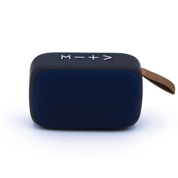 MVS Charge G2 Portable Wireless Speaker with micro SD Card and memory card slot (Blue)