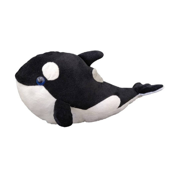 Ultra Stuffed  Baby Dolphin Ocean Life  Plush Soft Toy -12 Inch Black