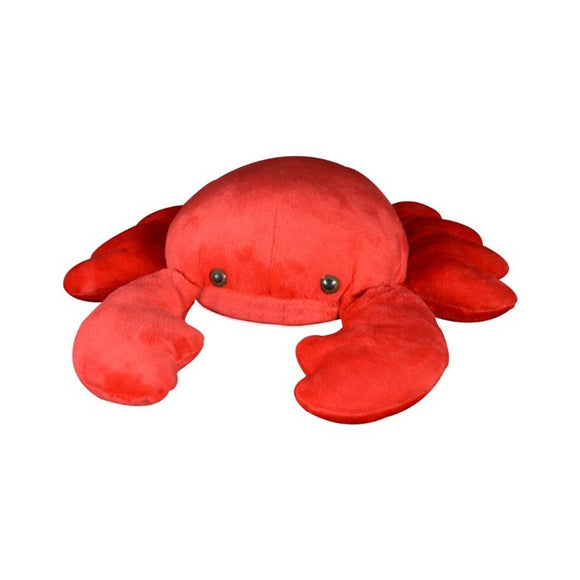 Ultra Plush Crab Stuffed Animal Red Crab,Cute Sea Life Cuddle Plush Toy For Kids 11