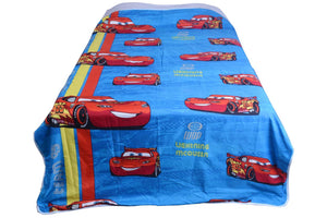 Premium Cotton Lighting Mcqueen Single Bed Dohar