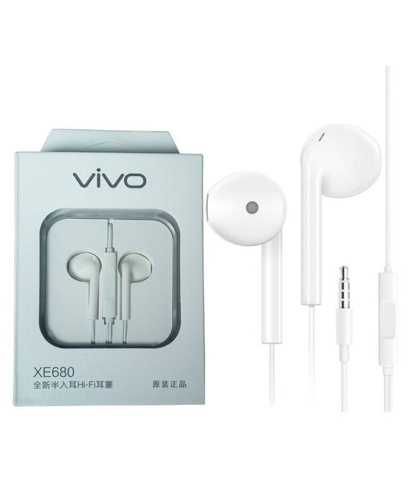 Flozum Vivo Wired Earphone With Mic (Buy 1 Get 1 Free)