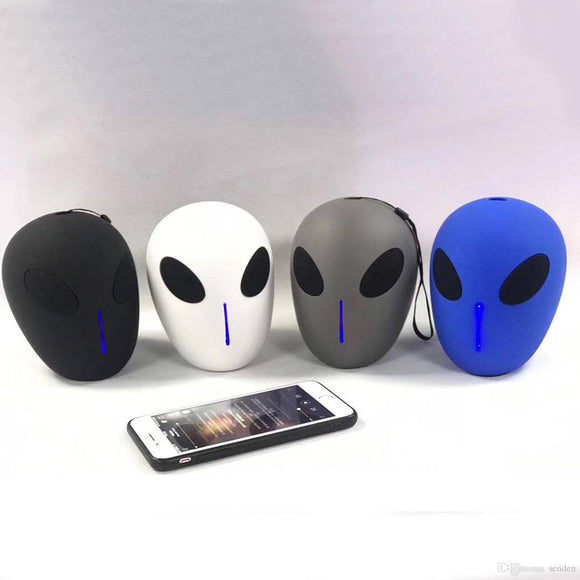 Unique Portable Speaker X18 Alien Style Wireless Bluetooth Speaker(Mix Colour)