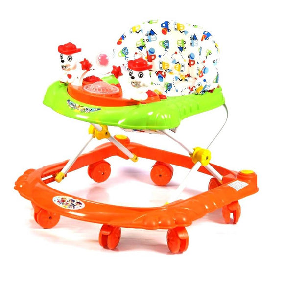 Reeco Musical Baby Walker 3 In 1 Height Adjustable Musical Toys Ride On Push Walker