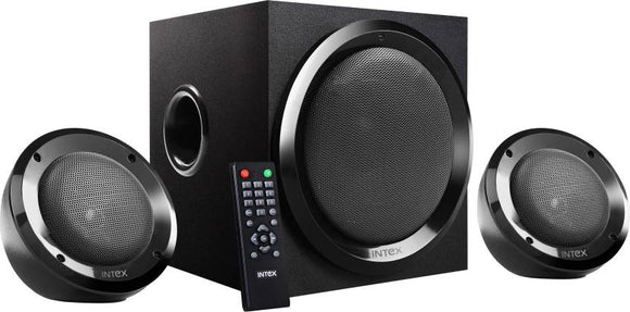 Intex IT-2202 SUF Portable Mobile/Tablet Speaker  (Black, 2.1 Channel) - 10solo.com