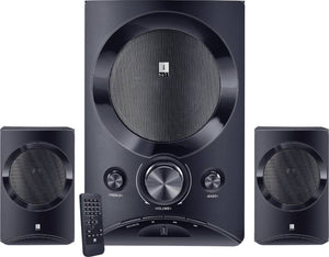 iBall Tarang Lion 2.1 Speakers  (Black, 2.1 Channel) - 10solo.com