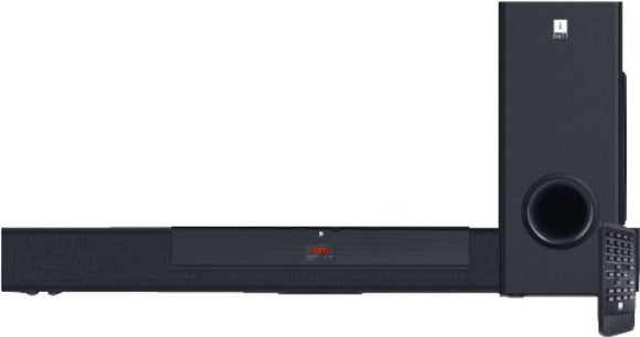 Iball Sound Bar B3 Bluetooth Laptop/Desktop Speaker  (Black, 2.1 Channel) - 10solo.com