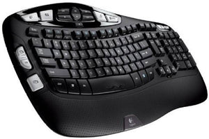 Logitech K350 Wireless Laptop Keyboard  (Black) - 10solo.com
