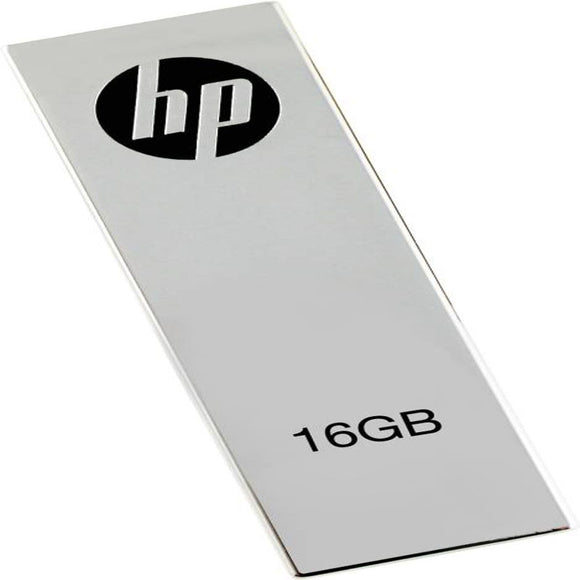 HP V-210 W - 16 GB Utility Pendrive  (Grey) - 10solo.com