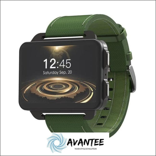 2018 Lemfo Pro Smart Watch - Green / China - Smartwatch