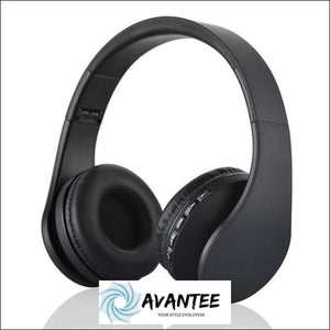 Andoer 4.1 + EDR Digital Stereo Bluetooth Headphones - Black - Headphones
