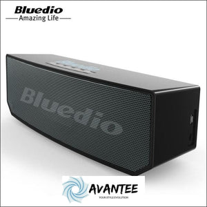 Bluedio Portable Bluetooth Speakers with Voice Control - Australia / black / Player Sets - Speaker