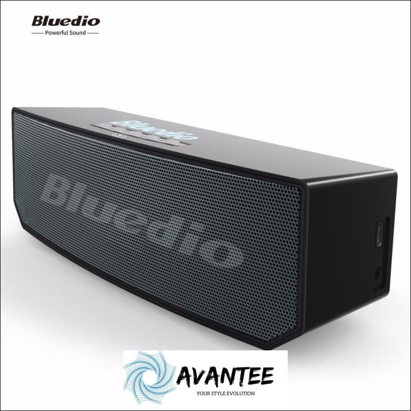 Bluedio Portable Bluetooth Speakers with Voice Control - Speaker