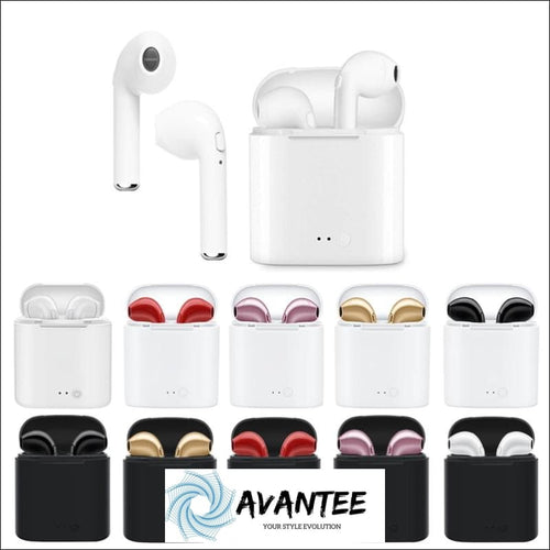 High Quality I7S Tws Mini Wireless Bluetooth Earphones Headphones Stereo Music Earbuds - Headphones