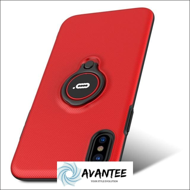 Ultra Thin Skin Pattern Phone Case For Iphones - Red / For iphone 6