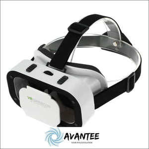 VR Shinecon 3D Pro Virtual Reality Goggles White - Virtual Reality
