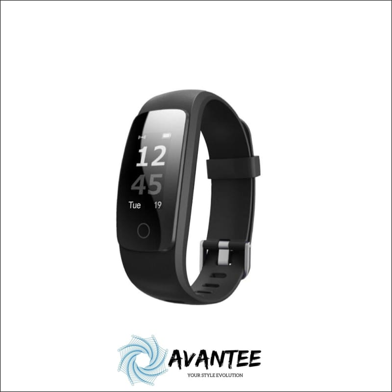 Waterproof Fitness Tracker Smart Watch - Black - Health & Fitness