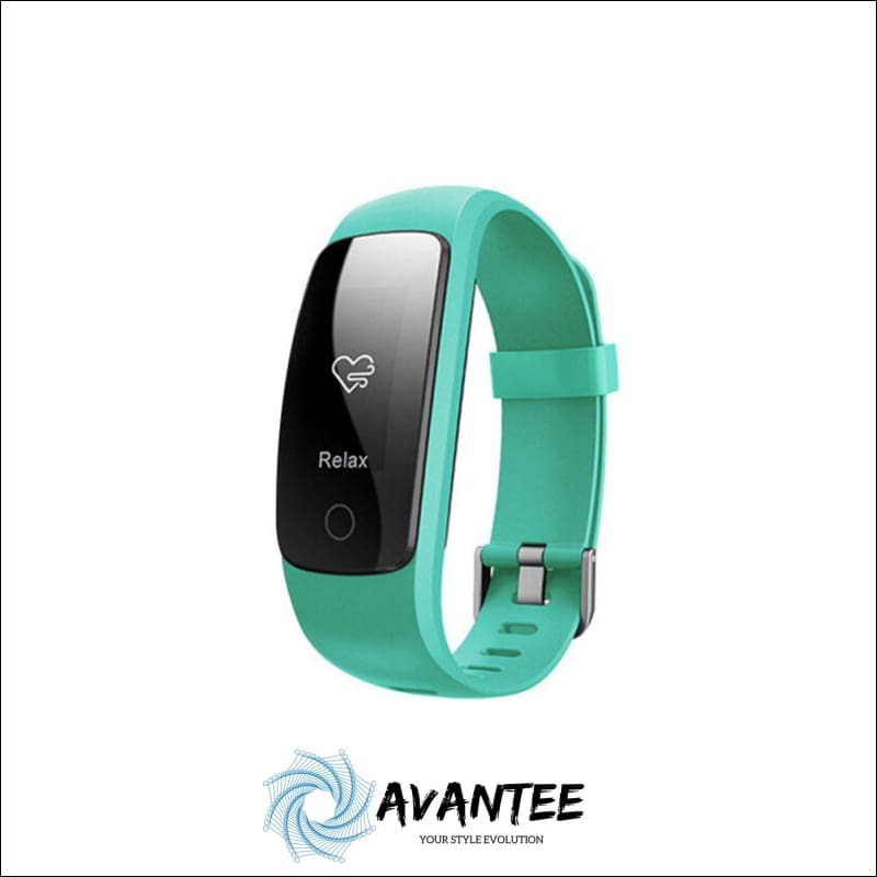 Waterproof Fitness Tracker Smart Watch - Green - Health & Fitness