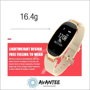 Womens Fashion Smartwatch For Iphones And Android Phones - Smartwatch