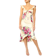 Load image into Gallery viewer, Betsey Johnson Floral Dress