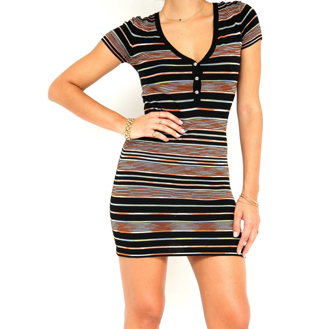 M Missoni Stripped Dress