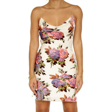 Load image into Gallery viewer, Betsey Johnson Floral Slip Dress