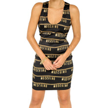 Load image into Gallery viewer, Moschino Chain Logo Dress