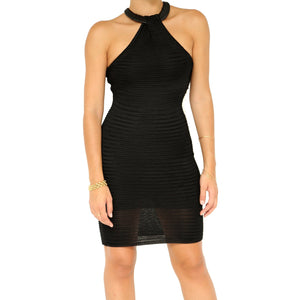 Ralph Lauren Black Mesh Dress