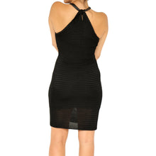 Load image into Gallery viewer, Ralph Lauren Black Mesh Dress