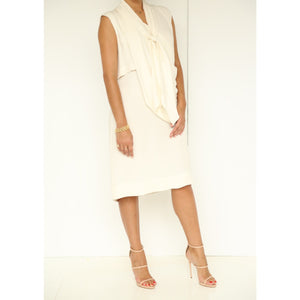 Derek Lam Sleeveless Tie Front Dress