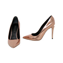 Load image into Gallery viewer, Alexander Wang Metallic Pumps