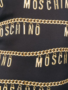 Moschino Chain Logo Dress