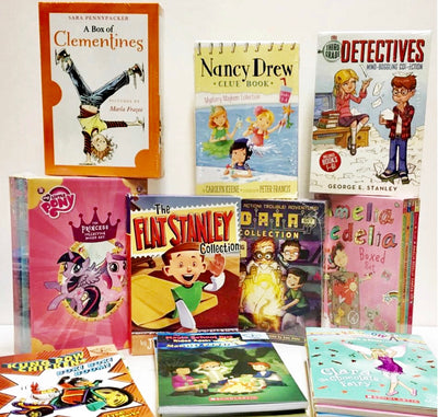 Kids Chaper Books & Biographies Ages 6-9