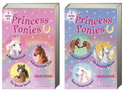 Princess Ponies Bind-Up 1-3 & 4-6 by Chloe Ryder (2 Hardcover Books)