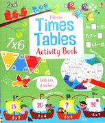 Usborne Times Tables Activity Book by Rosie Hore