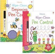 Usborne Wipe-Clean Beginning Pen Control and Wipe-Clean Pen Control  Set
