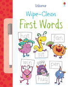 Usborne Wipe-Clean First Words by Stacey Lamb