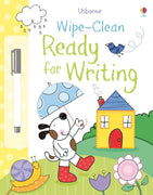 Usborne Wipe-Clean Books : Wipe-Clean Ready for Writing by Claire Ever (Laminated Paperback with wipe-clean pen)