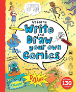Usborne Your Own Book : Write and Draw Your Own Comics by Louie Stowall (Hardcover, Enclosed Spiral)