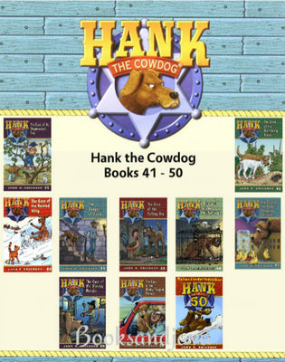 Hank the Cowdog  : Books 41-50 The Case of the Shipwrecked Tree ... by John R. Erickson (10 Paperback Book Set)
