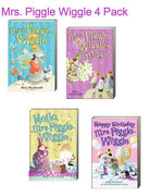 Mrs. Piggle Wiggle, Mrs.Piggle Wiggle's Magic, Hello Mrs. Piggle Wiggle and Happy Birthday ...by Betty MacDonald