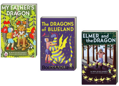 My Father's Dragon, The Dragons of Blueland, Elmer and the Dragon by Ruth Stiles Gannett