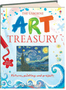 The Usborne Art Treasury by Rosie Dickins