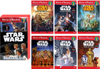 World of Reading : Level 2 : Star Wars  (Box Set, 6 Paperbacks)