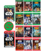 World of Reading : Level 1-2 : Star Wars :  Escape from Darth Vader, Ewoks Join the Fight....Rescue from Jabba's Palace, Death Star Battle... .(2 Box Sets, 12 Paperbacks)